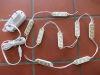 N.8 Moduli Led stagni bianco freddo 12Vcc 0,5W + alimentatore