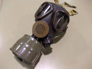 Maschera antigas M58 Esercito Italiano con filtro
