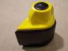 Manopola gialla con indice 22x36 foro mm. 6