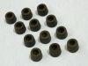 12 Piedini in gomma antivibrazione 14x10