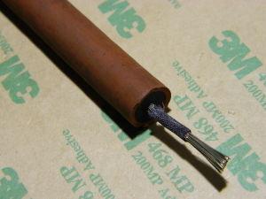 Cavo alta tensione 75KV silicone doppio isolamento AWG12