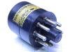 Tube socket adapter UX6 American 6 pin to octal, adattatore