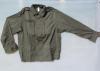 Giacca tattica verde antispine 4 tasche, giubbetto camicia