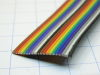 Ribbon cable  color 20 poles AWG24