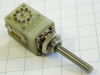Rotary switch 10 position 2 way, mm. 4