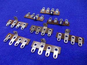 Morsettiera a saldare 4 posti per apparati valvolari (8 pezzi)