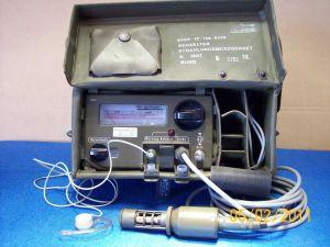 Contatore Geiger SV500 radiac meter Frieseke Hoepfner completo tutto originale