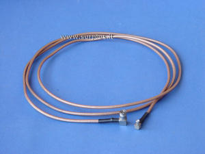 Coaxial cable RG 178 MCX-M/MMCX-M  cm.70