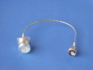 Cavetto SM141-CU deformabile, intestato N-M / 7/16-F cm.18