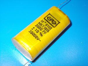 3.000pF 30KVcc Condensatore ERO MKT , alta tensione