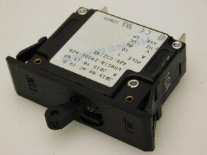 HEINEMANN JB1S-Y6-11-SP interruttore corrente continua 10A 65Vcc  fissaggio a molla