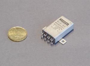 Relè 24Vcc 2scambi stagno contatti placcati oro Schaltbau type MM28D1L6S-1