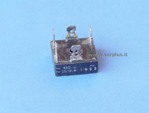 SKB25/12 Semikron Ponte monofase 1200V 25A