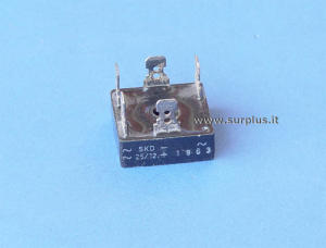 SKD25/12 Semikron 3 phase rectifier bridge 1200V 25A