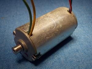 Motor 12Vdc 9.000 rpm
