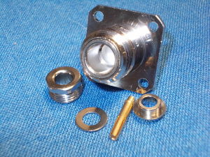 Caxial connector N female