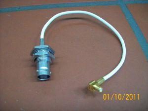 Cavetto RG178 intestato BNC-F/MCX-M  cm.15