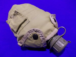 Water canteen with pouch