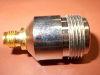 Coaxial adaptor N-F/SMA-F