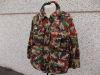 Giacca combat mimetica + zainetto jacket parka