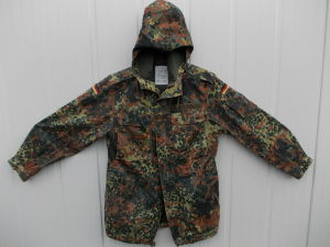 Parka giacca mimetica flecktarn esercito Tedesco originale
