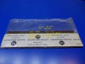 Allen Bradley resistors 0,5W 5% ( n.10pcs.)