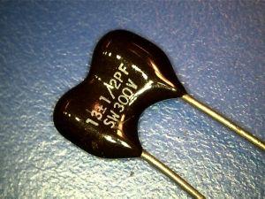 13pf 300Vdc Condensatore Mica/Argento