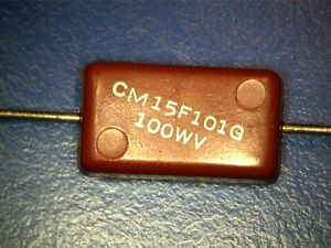 100pf 100Vdc MiAg capacitor
