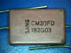 1800pf 300Vdc Condensatore Mica/Argento