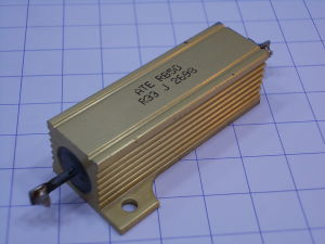 Dissipated power resistors 50W