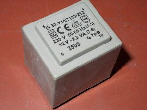 Trasformatore resinato 2,8VA 220/12V