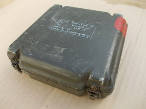 Waterproof aluminium box for spare parts Radio SEM25/35