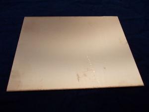 Double-side PCB fiberglass  cm. 17x21,5 , mm.1,58