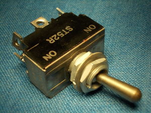 Toggle switch momentary  KULKA ST-52R  2SPDT