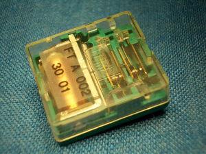 Relè 48Vdc 2scambi 5A ,FEME  FT A 002 30 01