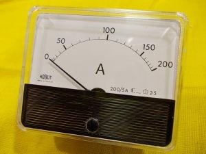 Amperometro 200/5Amp 84x69