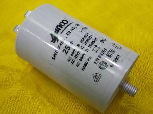 25uF 450Vac condensatore INCO Sintex  45S.F1BS.45  con faston