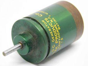 SERVO TEK ST-721-7B DC Tachometer generator rating 7V/1000rpm
