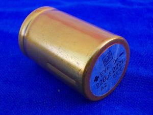 220MF 200Vdc capacitor