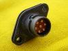 Connettore  SCHALTBAU  VG95351 B7  7pin  da pannello per audio apparati radio