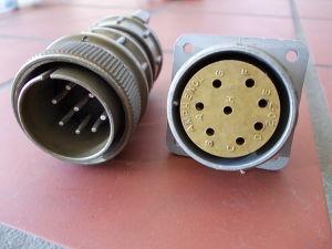 Connector 8 poles