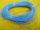 Tubetto guaina al silicone blu mm. 0,6 ( bobina m. 50)
