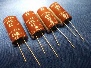 82MF 450Vdc Capacitor 4 pcs.