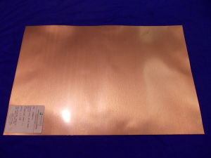 """Duroid Rogers laminate RT587 18""""x12"""""""