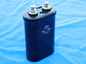 930MF 450Vdc electrolytic capacitor low ESR NIPPON CHEMICON