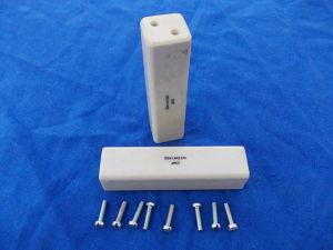 Pair ceramic insulator mm. 26x26x102