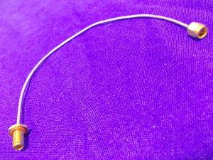 Cavetto deformabile SM086 intestato SMA-M/SMA-F  passante  cm.22
