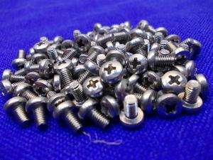 Vite Inox M3x5 testa cilindrica croce  (100 pezzi)