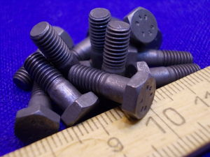 Vite Titanio LN29943 testa esagonale M5x14 (12 pezzi)