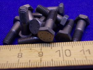 Vite Titanio LN29943 testa esagonale M5x16 (12 pezzi)